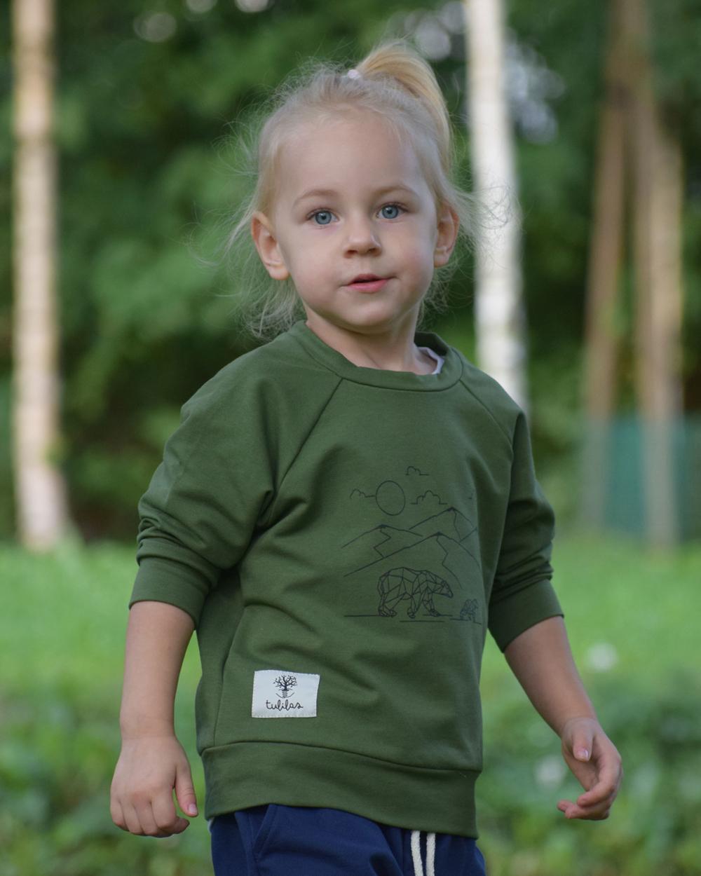 dziecięca bluza z niedźwiadkiem