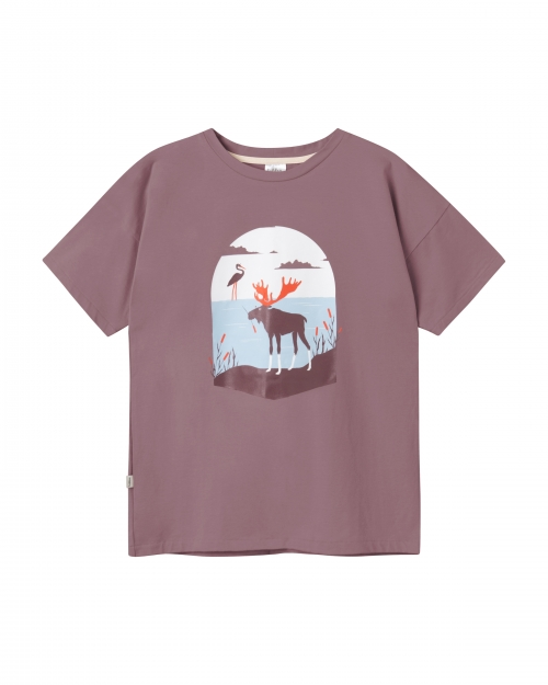 damska koszulka łoś